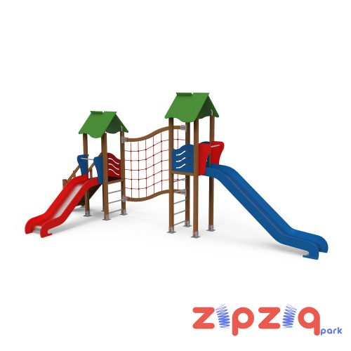İpli Eğim Tırmanmalı Çocuk Oyun Grubu
