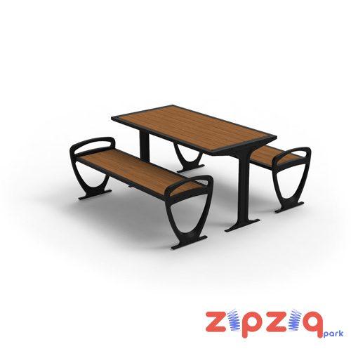 Ahşap Dekoratif Piknik Masası